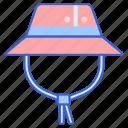 cap, fisherman, hat icon