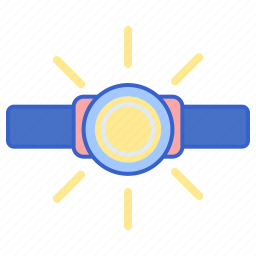 head, lamp, light icon