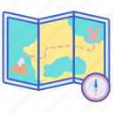 direction, location, map icon