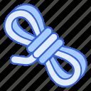 nylon, paracord, rope icon