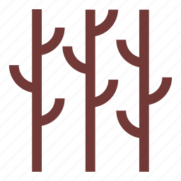 camping, forest, nature, outdoors, trees, woods icon