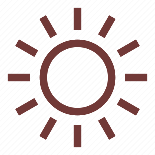 camping, nature, outdoors, rays, sun, weather icon