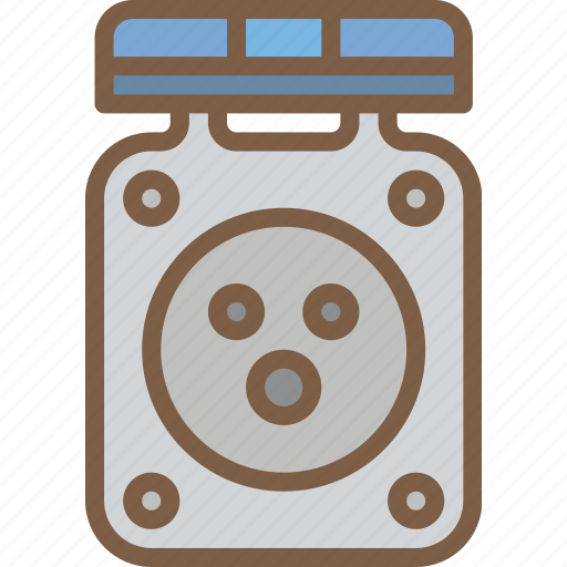 camping, leisure, outdoors, outlet, power, recreation, travel icon