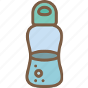bottle, camping, leisure, outdoors, recreation, travel, water icon