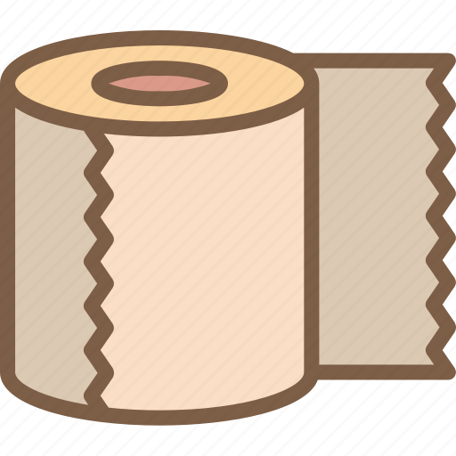 camping, leisure, loo, outdoors, recreation, roll, travel icon