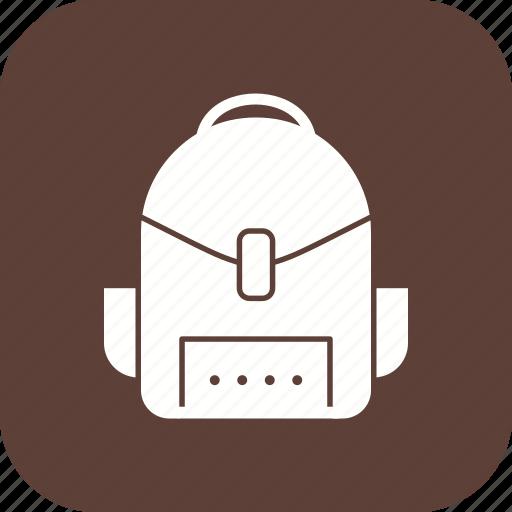 bag, bagpack, school, travel icon