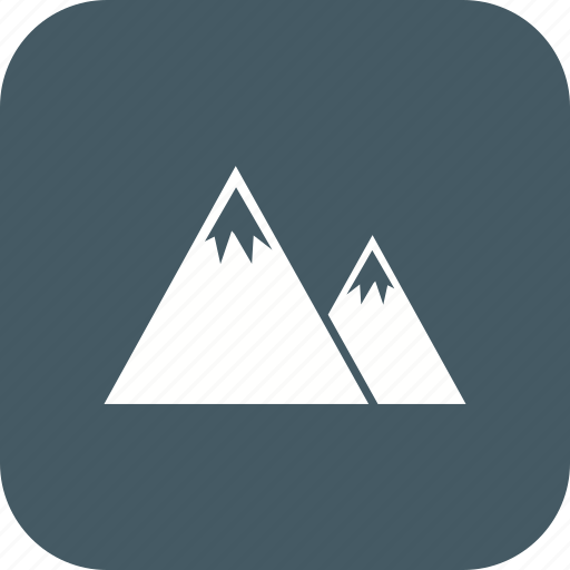 adventure, landscape, mountain, mountains, nature icon
