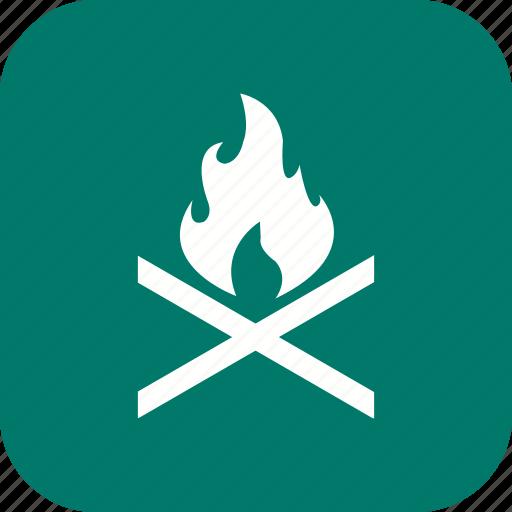 adventure, bone fire, camp fire, outdoor icon