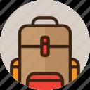 camping, bag, backpack, baggage, tourism, travel