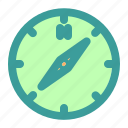compas, west icon