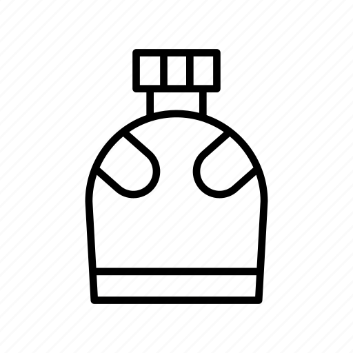 bottle, camping, canteen, drinking water, flask icon