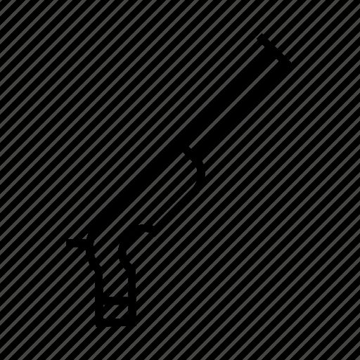 gun, hunt, hunting rifle, rifle, weapon icon