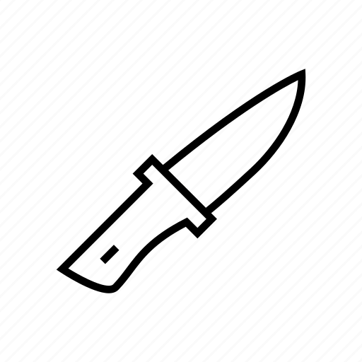 blade, camping, knife, tool, weapon icon