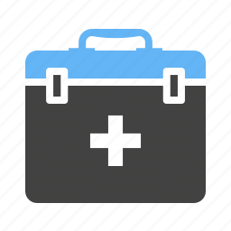 box, emergency, first aid, health, kit, medical, safety icon