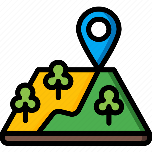 camping, leisure, location, outdoors, recreation, travel icon