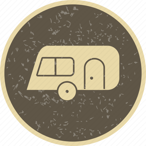 camping, capming, caravan, travel icon