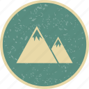 adventure, mountains, photo, picture icon
