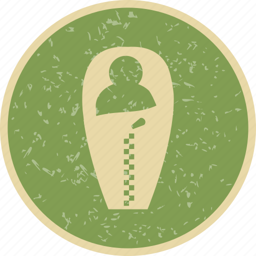 camp, camping, outdoor, sleeping bag icon