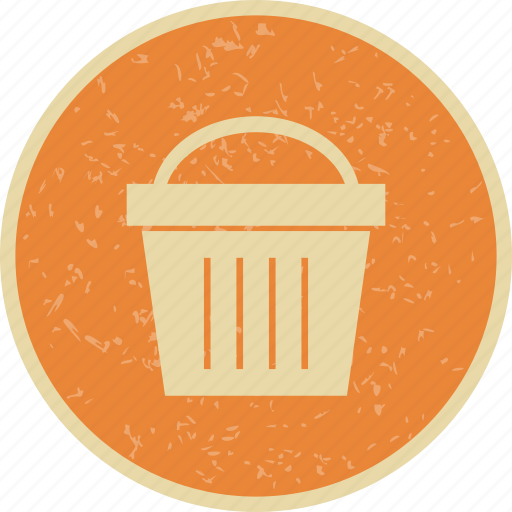 basket, camping, cart, picnic icon