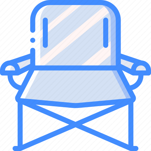 camping, chair, leisure, outdoors, recreation, travel icon