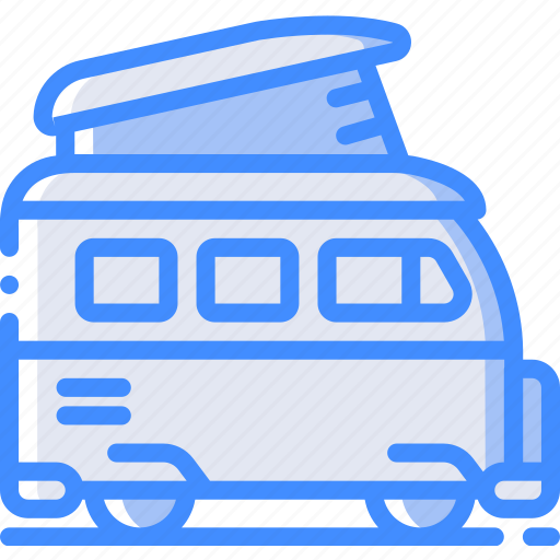 camper, camping, leisure, outdoors, recreation, travel, van icon