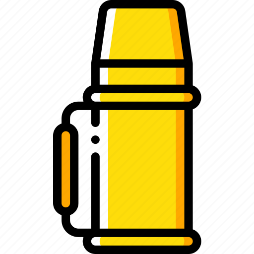 camping, flask, leisure, outdoors, recreation, travel icon