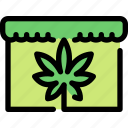 buy, cannabis, marijuana, shop, store icon
