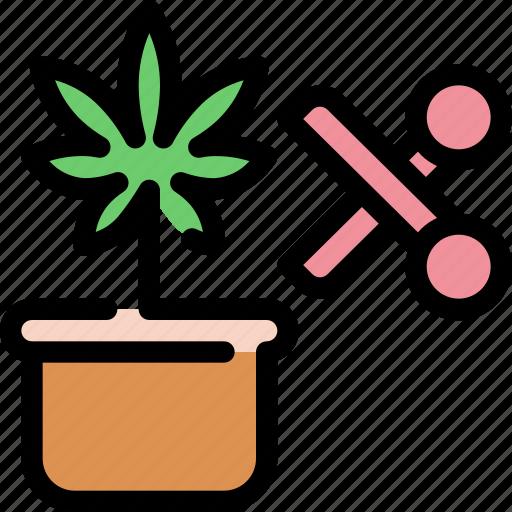 cannabis, marijuana, medical, scissor, scissors icon