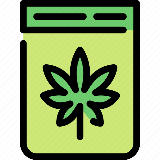 bag, cannabis, lab, marijuana, medical, science icon