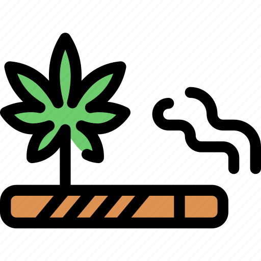 cannabis, cigarette, marijuana, smoke, smoking icon