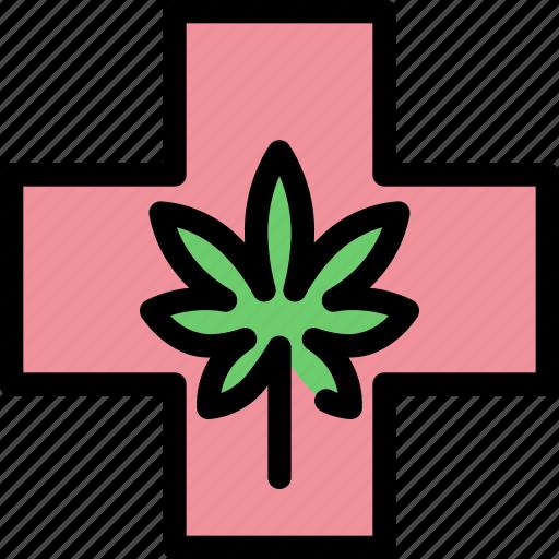 cannabis, health, healthcare, marijuana, medical icon