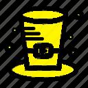 canada, cap, detective, hat icon