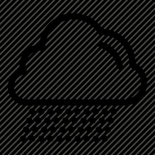 canada, cloud, rain icon