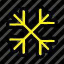 canada, flakes, snow, winter icon