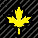 canada, leaf, maple icon