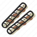 candy, chocolate, chocolate wafer sticks, sticks, sugar, sweet, sweets icon