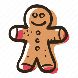 candy, gingerbread, gingerbread man, man, sugar, sweet, sweets icon