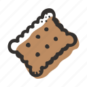 biscuit, candy, cookies, cracker, sugar, sweet, sweets icon