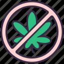 cannabis, marijuana, plant, illegal, drug, no, prohibited