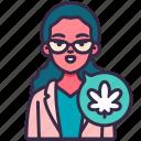 cannabis, marijuana, plant, leaves, hospital, doctor, medical
