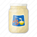 can, canned food, food, mayonnaise, package, packaging, sauce icon