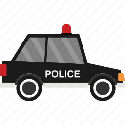 car, police, transport, transportation, van, vehicle icon