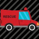 car, rescue, transport, transportation, van, vehicle icon