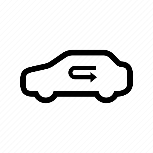 air, car, inside, recycle icon