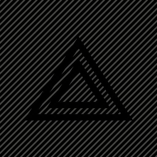 alarm, car, triangle, warning icon