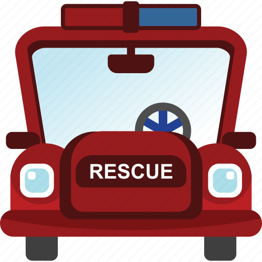 car, rescue, transport, transportation, vehicle icon