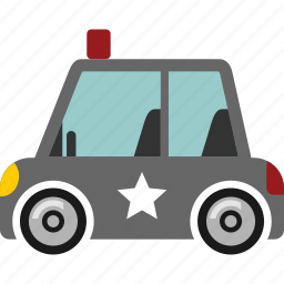 car, police, transport, transportation, vehicle icon