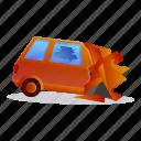 accident, auto, car, crash, danger