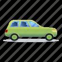 accident, car, crash, man, street, wreck