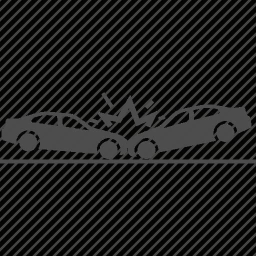 accident, accidents, car, crash icon